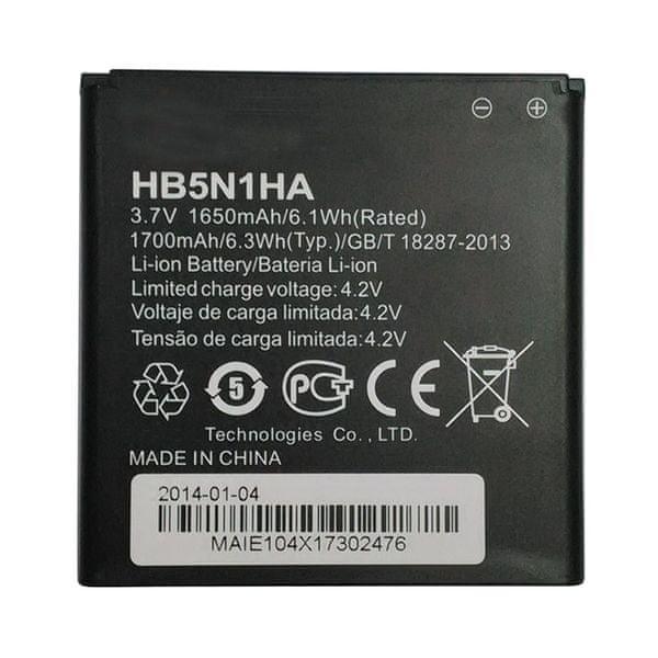 Huawei baterie, HB5N1HA, 1650mAh, BULK