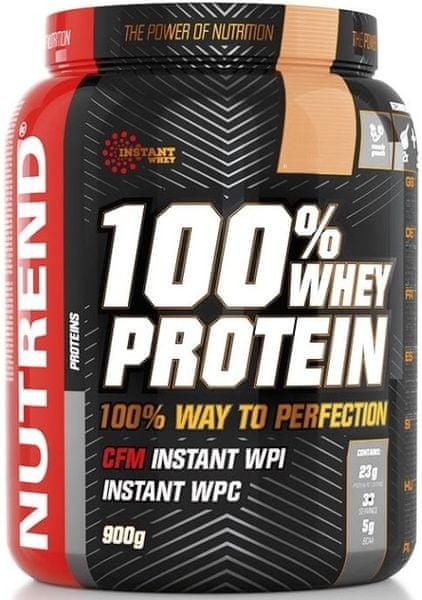 Nutrend 100% Whey Protein 900 g Jahoda