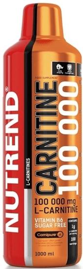 Nutrend Carnitine 100000 1000 ml pomeranč