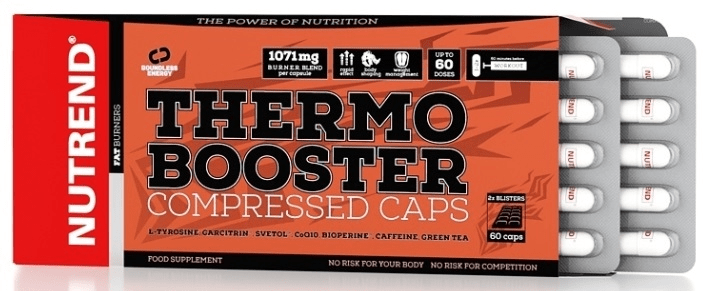 Nutrend Thermobooster Compressed 60 cps