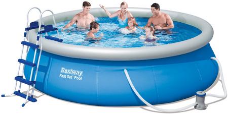 Bestway basen ogrodowy 366 x 91 cm z filtrem kartuszowym