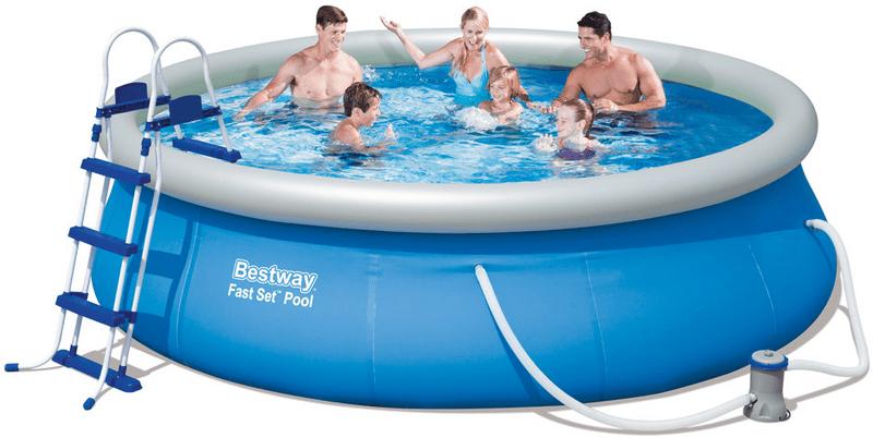 Bestway Bazén 3,66 x 0,91 m + kartušová filtrace - II. jakost