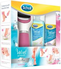 Scholl Velvet Smooth Diamond Szett
