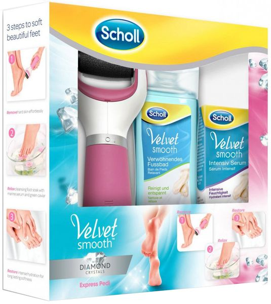 Scholl Velvet Smooth Diamond Set