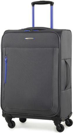 MEMBER´S potovalni kovček Hi-Lite TR-0137/3, M, siv
