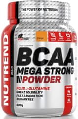 Nutrend BCAA Mega Strong Powder 500g narancs