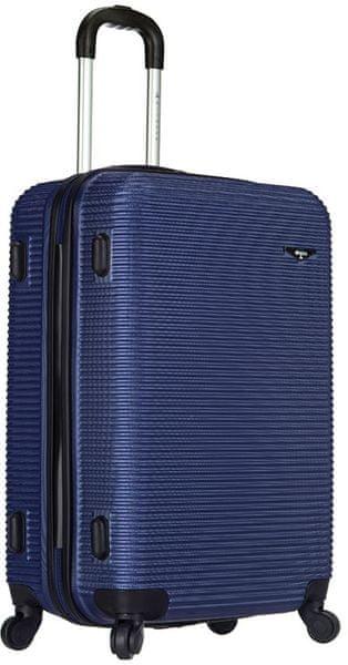 Sirocco Cestovní kufr T-1039/3-60 ABS modrá