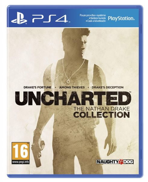 Sony Uncharted: The Nathan Drake Collection / PS4