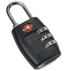 REAbags Visiaci kódový zámok TSA Benzi čierny