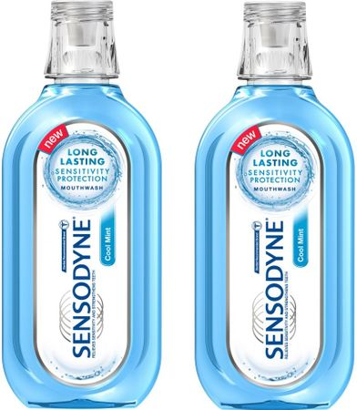Sensodyne vodica za usta Cool Mint, 2x500 ml