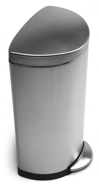 Simplehuman Půlkulatý pedálový odpadkový koš 30 l