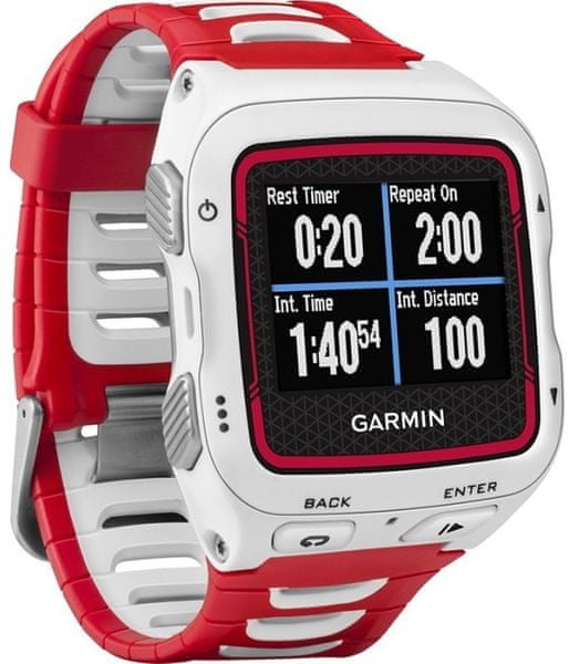 Garmin Forerunner 920 XT, bílá, červená