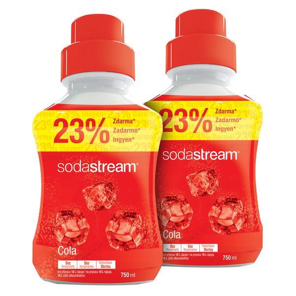 Sodastream Sirup Cola velký 2x 750 ml