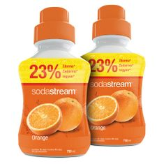 Sodastream Sirup Orange 2x 750 ml