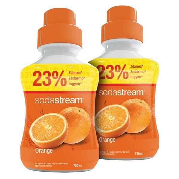 Sodastream Sirup Orange 2x 750 ml