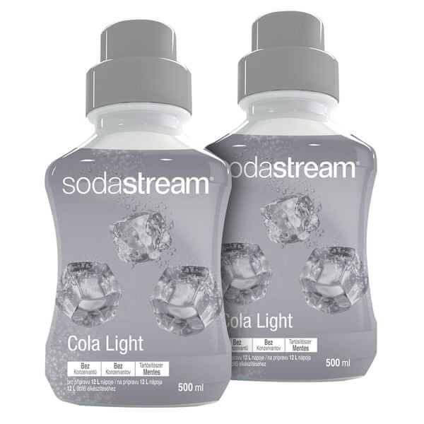 Sodastream Sirup Cola Light 2x 500 ml
