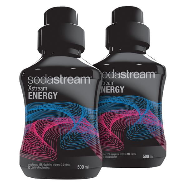 Sodastream Sirup Energy 2x 500 ml