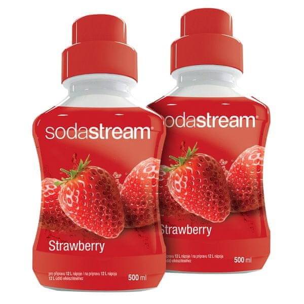 Sodastream Sirup Jahoda 2x 500 ml