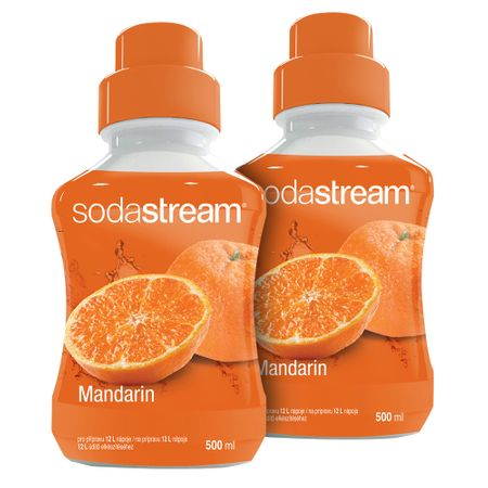 Sodastream Příchuť Mandarinka 2x 500 ml