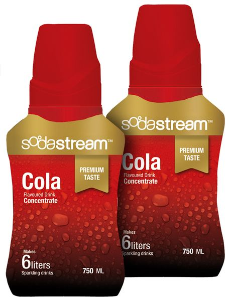 Sodastream Sirup Cola Premium 2x 750 ml