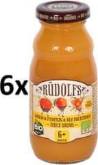 RUDOLFS Detský juice mango+tekvica+rakytník - 6x190 g