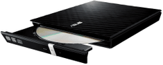 Asus Zunanji DVD zapisovalnik SDRW-08D2S-U slim, črn (SDRW-08D2S-U LITE/BL)