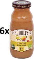 RUDOLFS Dětský juice jablko+hruška - 6x190