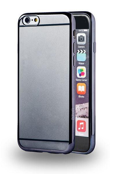 Azuri pouzdro s kovovým efektem, iPhone 6/6S, Grey