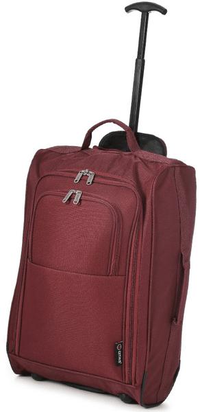 REAbags Cestovní kufr Cities Western Gear červená