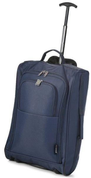 REAbags Cestovní kufr Cities Western Gear modrá