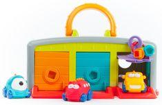 Teddies BABY Monster garáž s autíčkami 3ks