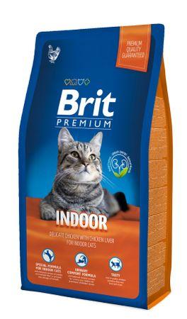 Brit hrana za mačke Premium Cat Indoor, 8 kg