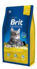 Brit hrana za mačke Premium Cat Adult Salmon, 8 kg
