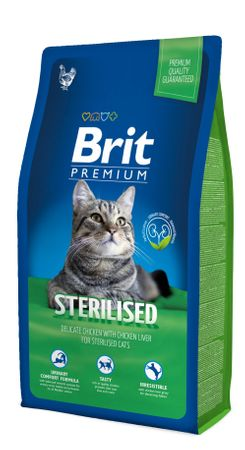 Brit PREMIUM Cat STERILISED 8 kg