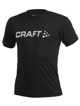 Craft majica Prime Logo Tee, moška, M, črna