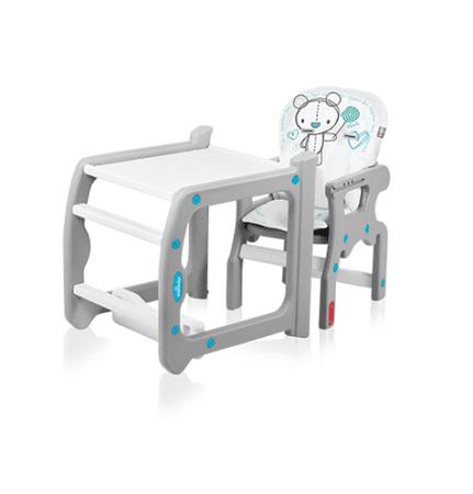 Baby Design Candy 2 1 multifunkciós etetőszék türkiz  e093b75568