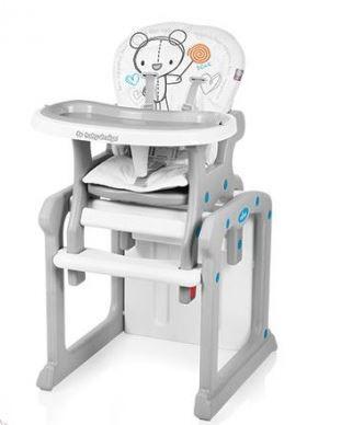 Baby Design Candy 2 1 multifunkciós etetőszék fehér  b49f78eba9