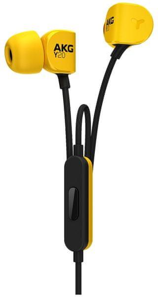 AKG Y20U, žlutá