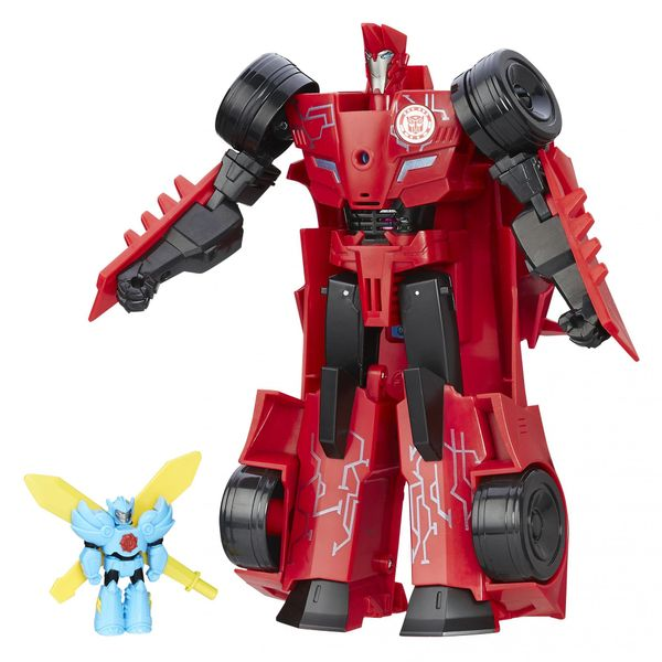Transformers RID Power hero Sideswipe