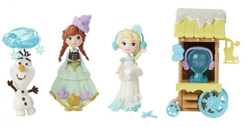Disney Frozen tématický set Bruslení