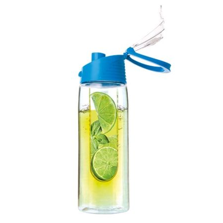 Vivamax Limonádé készítő palack, Kék, 750 ml