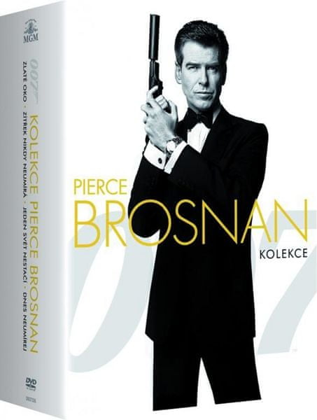 JAMES BOND Pierce Brosnan - kolekce - DVD