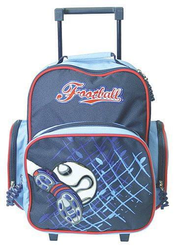 Cool Školní batoh trolley Fotbal