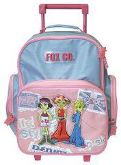 Cool Školský batoh trolley Fox Co. tri dievčatá