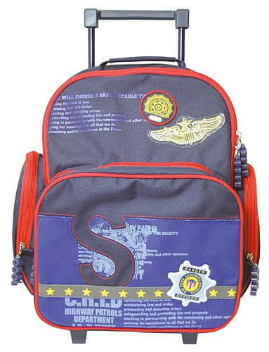 Cool Školní batoh trolley Fox Co. Šerif