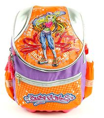 Cool Školní batoh Blondýna se skatem