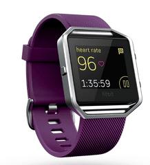 Fitbit Blaze S, fialová