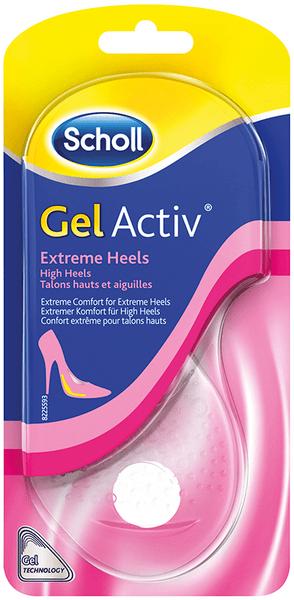Scholl GelActiv Dámské vložky Extrémně vysoké podpatky