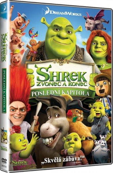 Shrek: Zvonec a konec - DVD