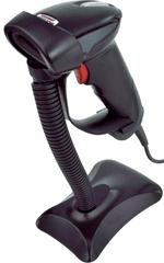 Virtuos Laser čtečka HT-900A,USB, černá